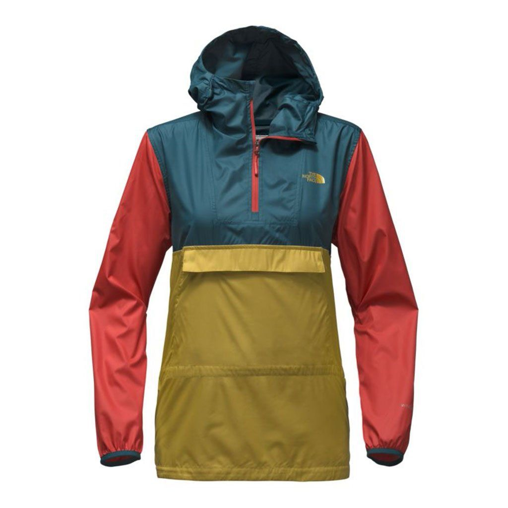 6556ae2b7 Women's Fanorak in Olivenite Yellow Multi by The North Face - FINAL ...