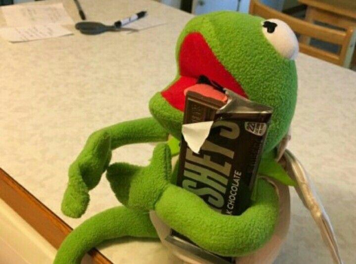 Kermit The Frog Panosundaki Pin