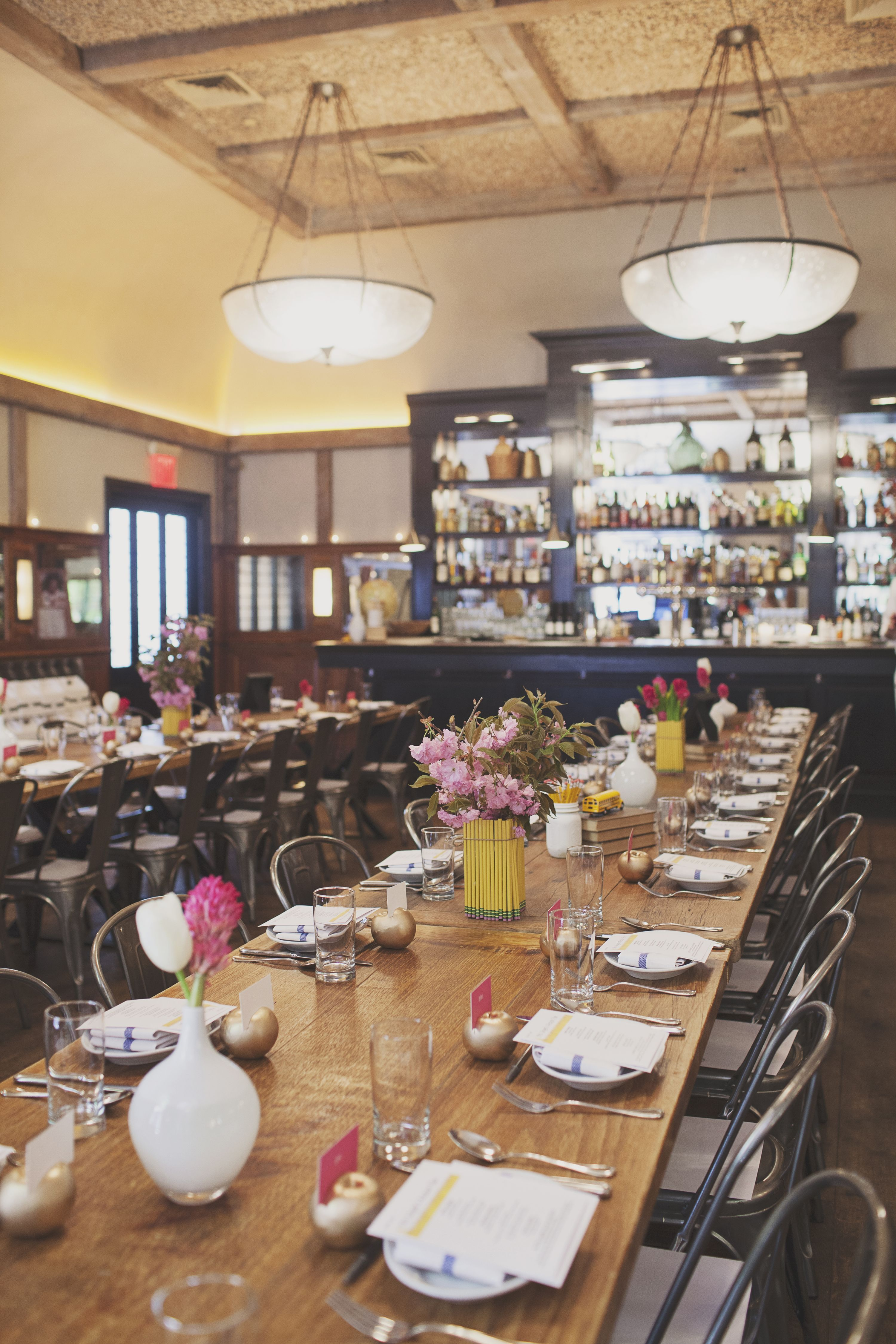 A Bridal Shower Set For Lunch At Locande Verde Nyc Bridal
