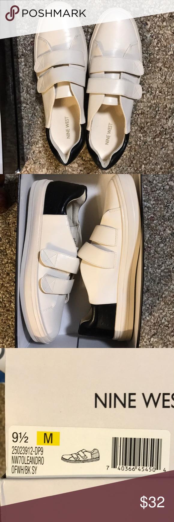 Nine West Sneakers New in Box Nine West Leather Sneakers Nine West Shoes Sneakers