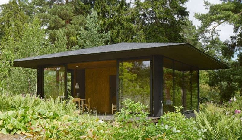 Diseño de casa de campo pequeña construida en sólo 40 metros ...