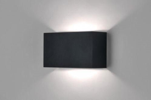Www Lampen1fachschoen De Klare Formgebung Und Hochwertiges Matt Schwarz Lackiertes Metall So Prasentiert Sich Di Wandleuchte Moderne Wandlampen Wandlampen