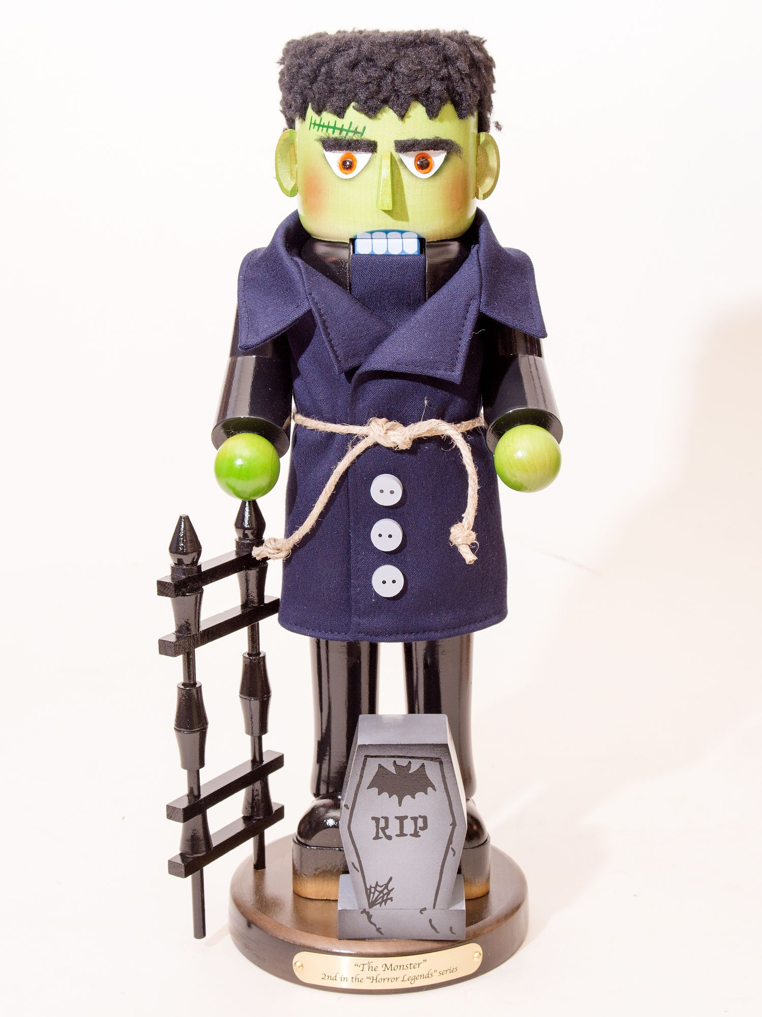 """Here we have Frankenstein's creation - """"The Monster""""! He's the newest addition to Steinbach's Horror Legend series and just spectacular, or should we say spook-tacular?    These Limited Edition designs are highly sought after by collectors and are certain to become cherished heirlooms."""