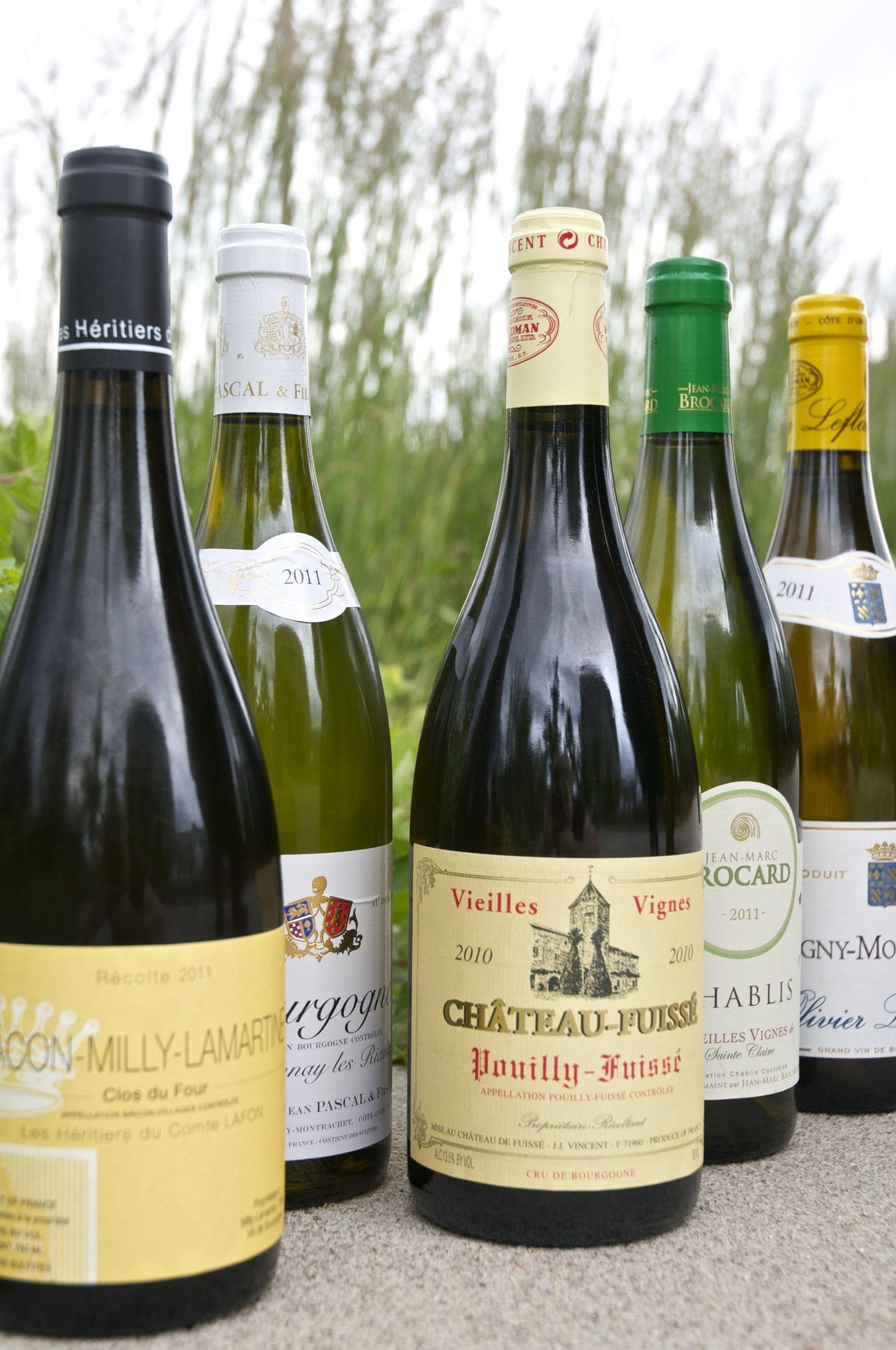 What does white burgundy wine taste like