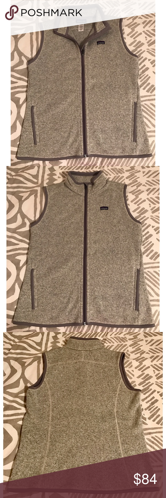 Patagonia Better Sweater Vest Women's size large Patagonia Better Sweater Grey vest. PERFECT CONDITION. Literally no signs of wear. Worn once. Purchased in 2015. Perfect addition to any closet for bundling up or layering in style. No trades please! Patagonia Jackets & Coats Vests