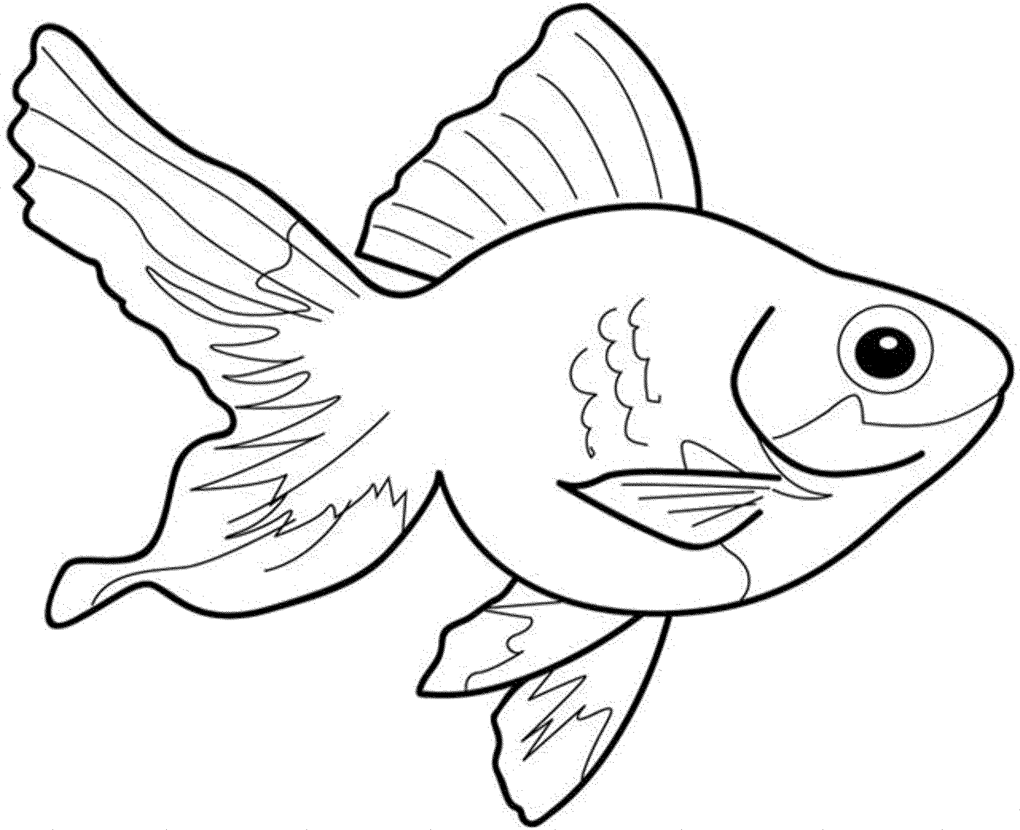 colorpagesoffish ( images)  fish coloring page