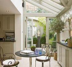 small kitchen conservatory ideas uk google search - Kitchen Conservatory