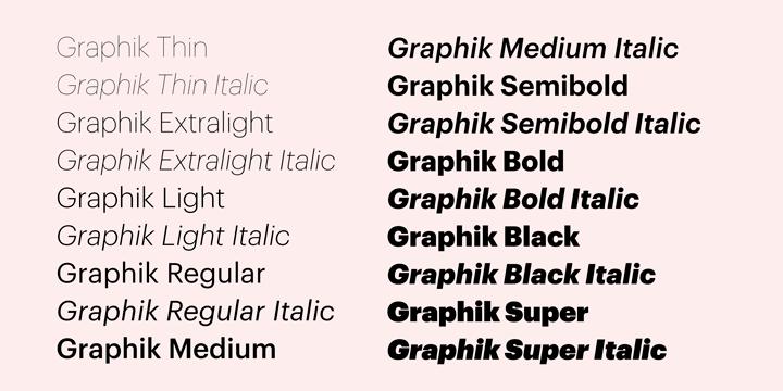 Graphic Art Fonts