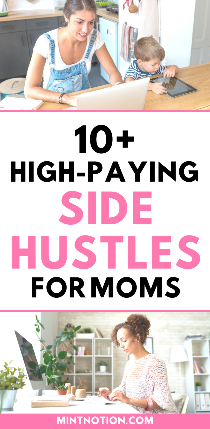 10 Stay At Home Mom Jobs Flexible And High Paying Mom Jobs Sahm Jobs Flexible Jobs