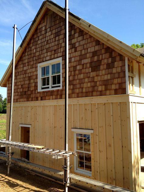 13 Divine Board Batten Siding Ideas To Steal Everybody S Attention Boardandbattensiding Eventually Thi House Siding Exterior House Siding Cedar Shingle Siding