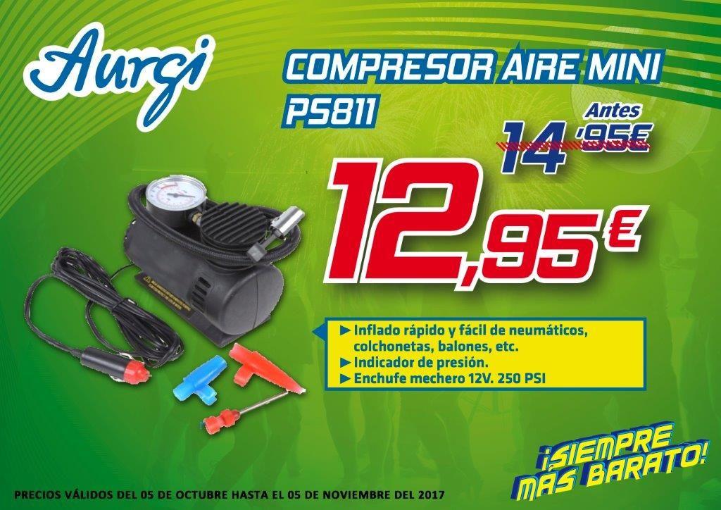 Oferta Aurgi Compresor De Aire Para El Coche Campana Otono 2017