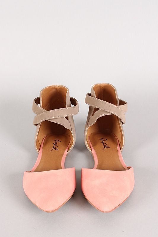 827bd2bf988e These pointed pink pumps are so cute. They remind me of ballerina shoes.  Perfect for summer.