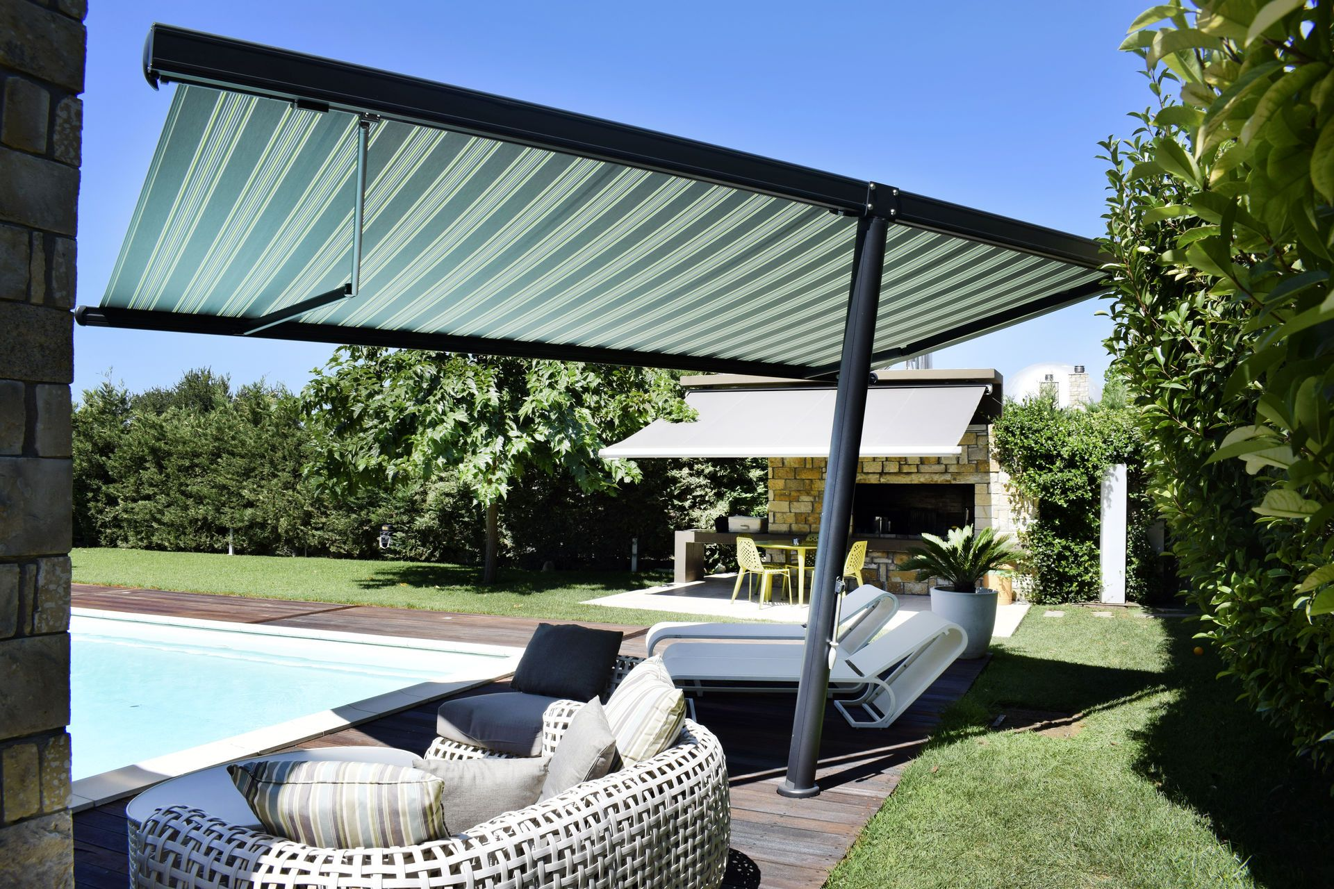 Markilux Planet Freestanding Awnings Roche Awnings Outdoor Living Space Outdoor Living Awning