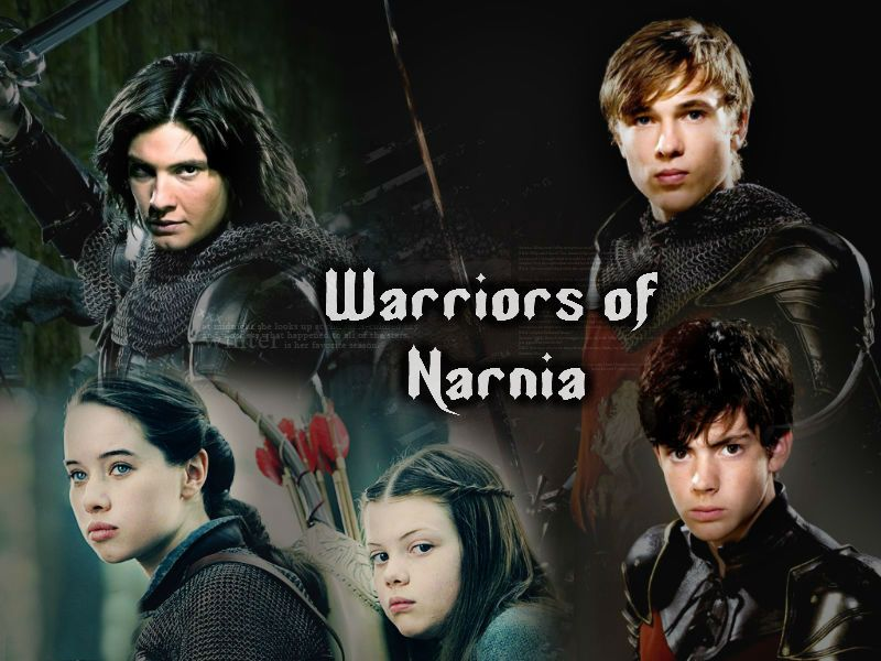 Warriors of Narnia {Graphic made by Evelyn Ashby/Ivory from www.ivorycat.weebly.com}