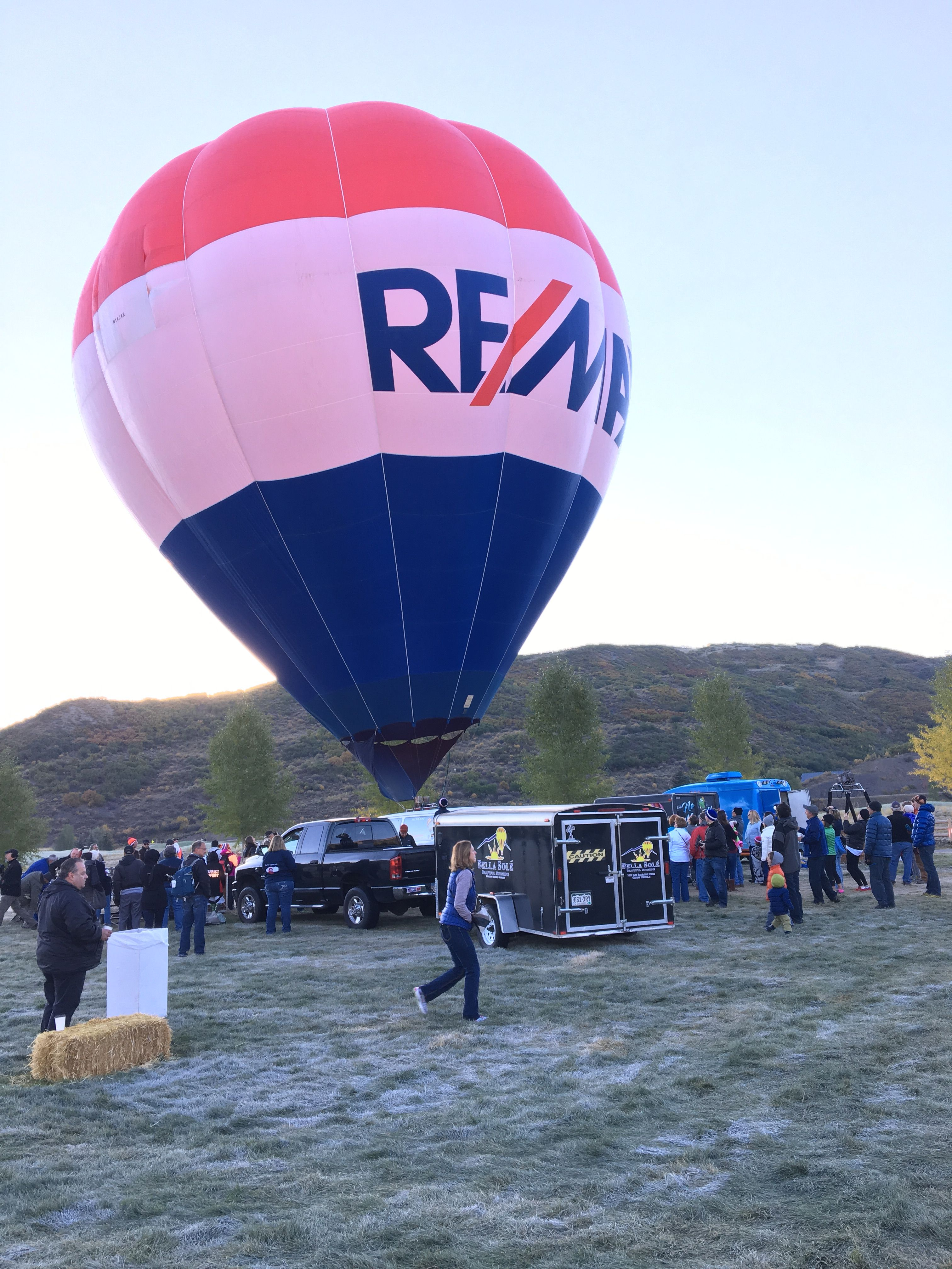 The RE/MAX Balloon in Aspen, CO  Courtesy photo, Martin Coover of