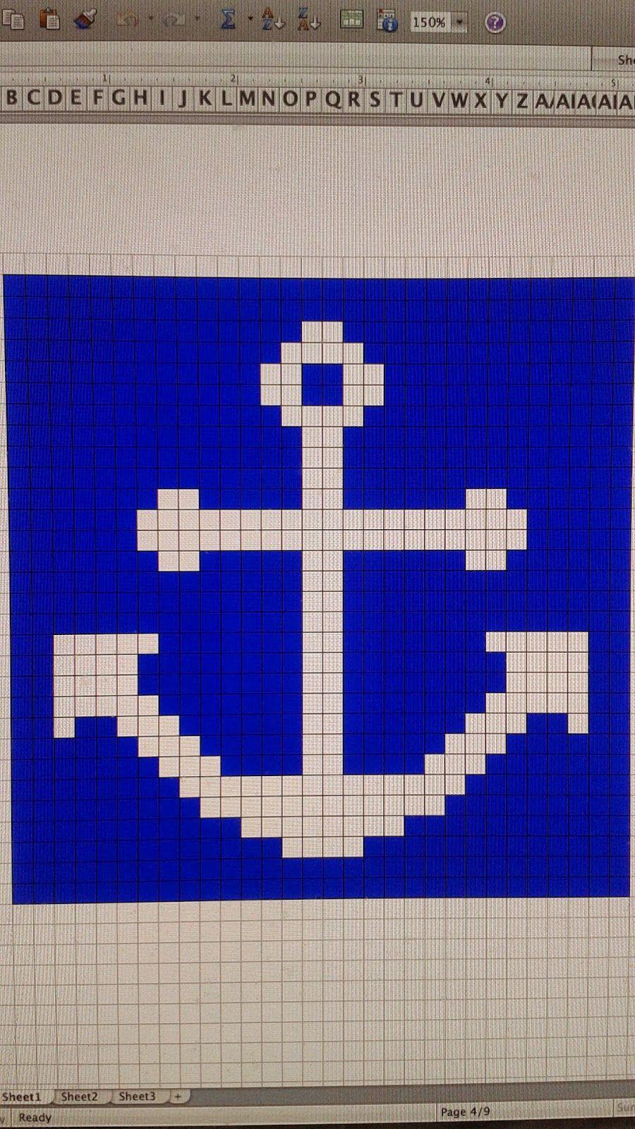 Jessame Bakes: Nautical Afghan February 2014 | Crochet | Pinterest ...