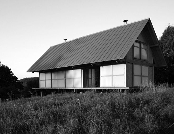A HOUSE IN THE FIELDS