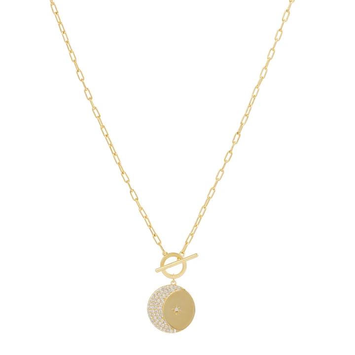 Photo of Golden Skies Mini verknüpfte Halskette