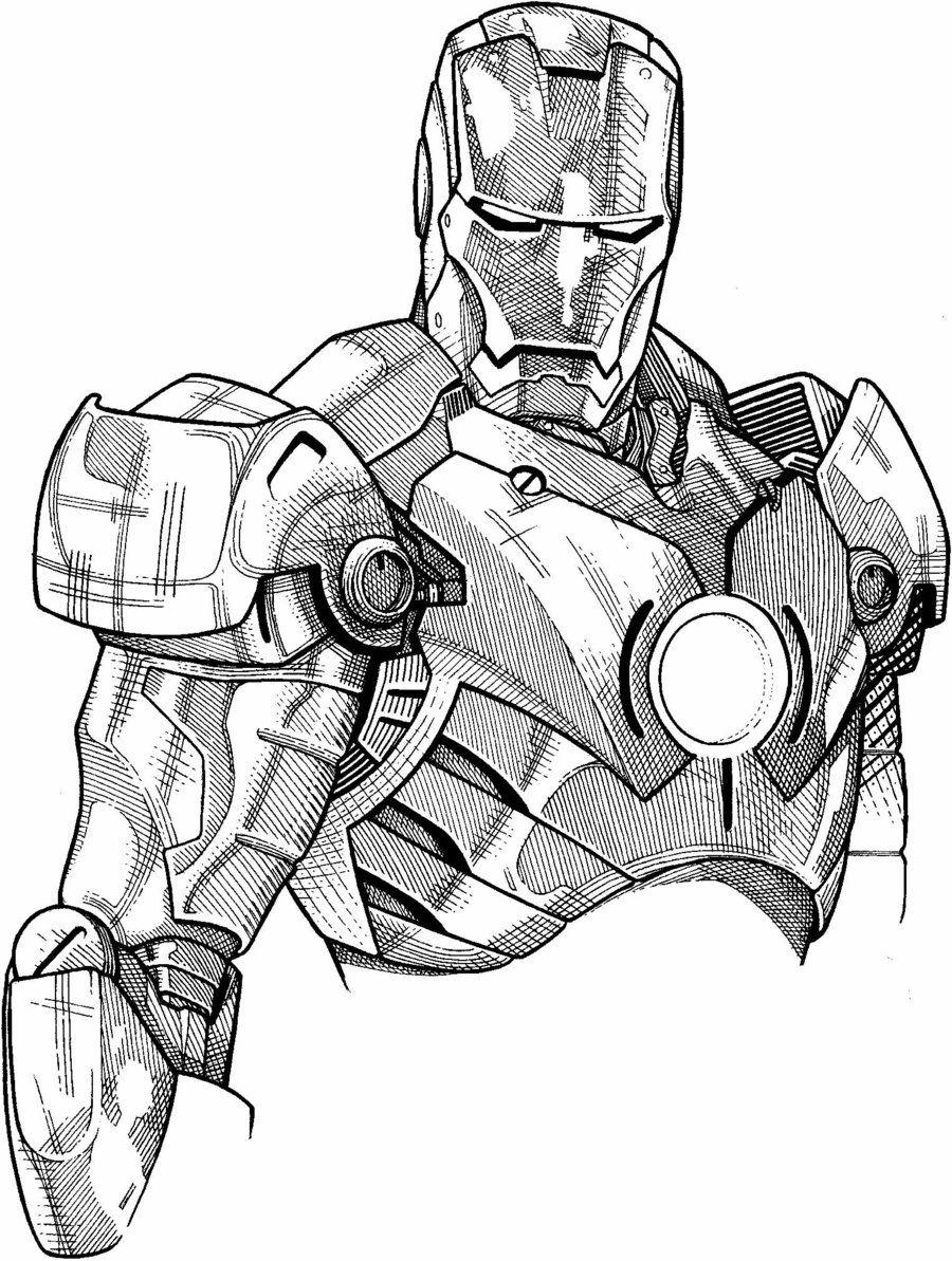 Coloriage hulk buster - Dessin ironman ...