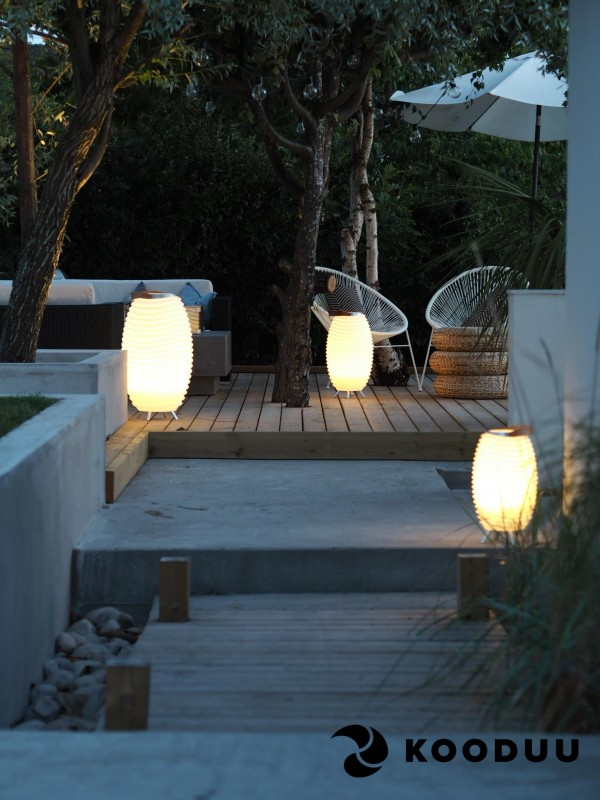 Led Lampe Bluetooth Lautsprecher Sektkuhler Party Garten Musik Alles In Einem Kooduu Synergy 35s New Von White Living Room Decor Outdoor Decor Outdoor Living