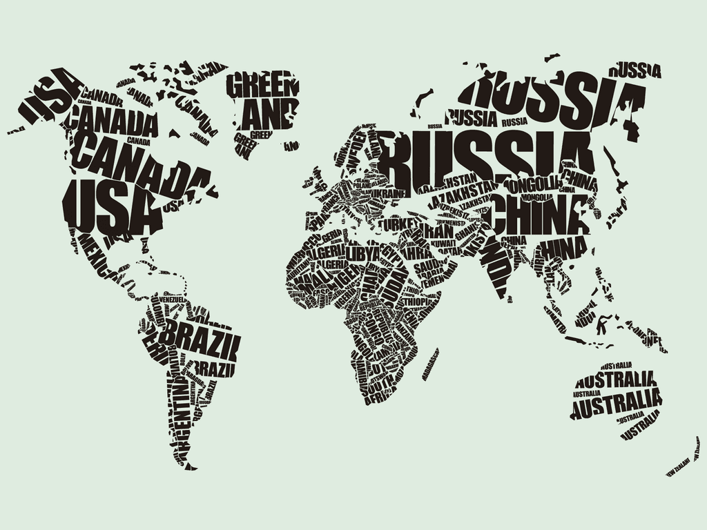 Mapamundi nombres comprar en portal gr fico vinilos for Vinilo mapa del mundo