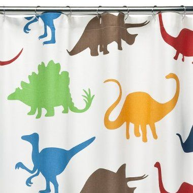 DwellStudioR For TargetR Dinosaurs Shower Curtain 20 50
