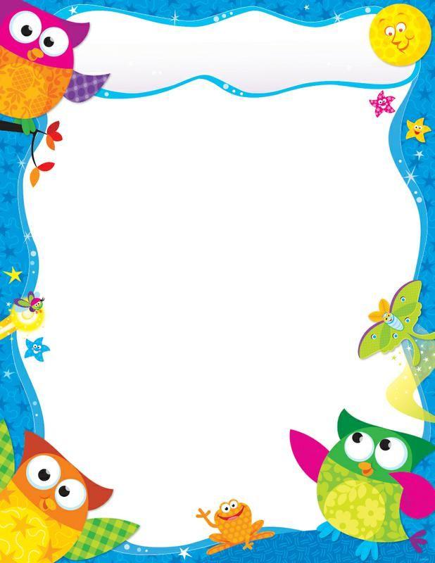 Clip Art Border Stars Preschool