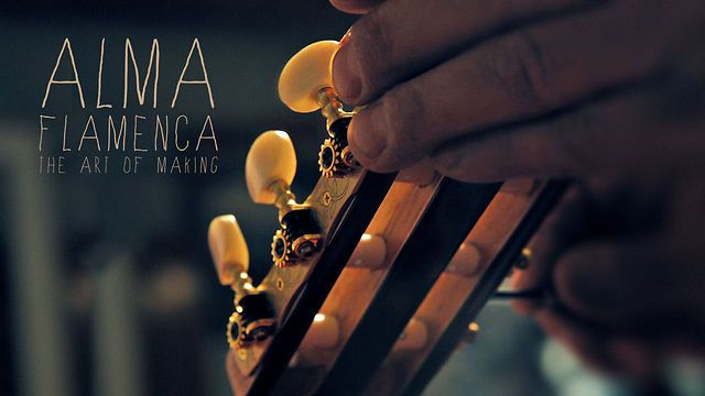 The Art of Making, Alma Flamenca by Dimitris Ladopoulos. Pieces of wood, love, knowledge and 299 hours of work, condensed in a 3 minute film.