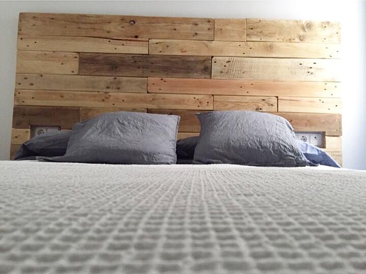 Cabeceros de cama con palets buscar con google - Cabeceros de cama con palets ...