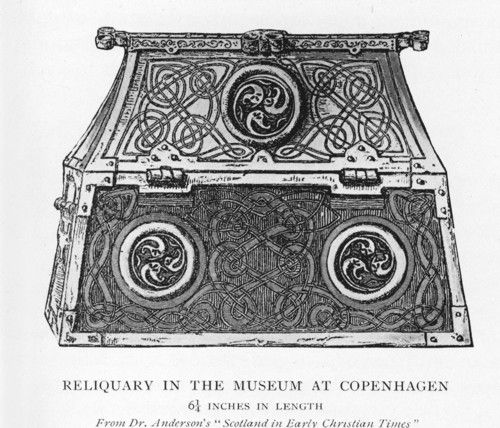 reliquary chest
