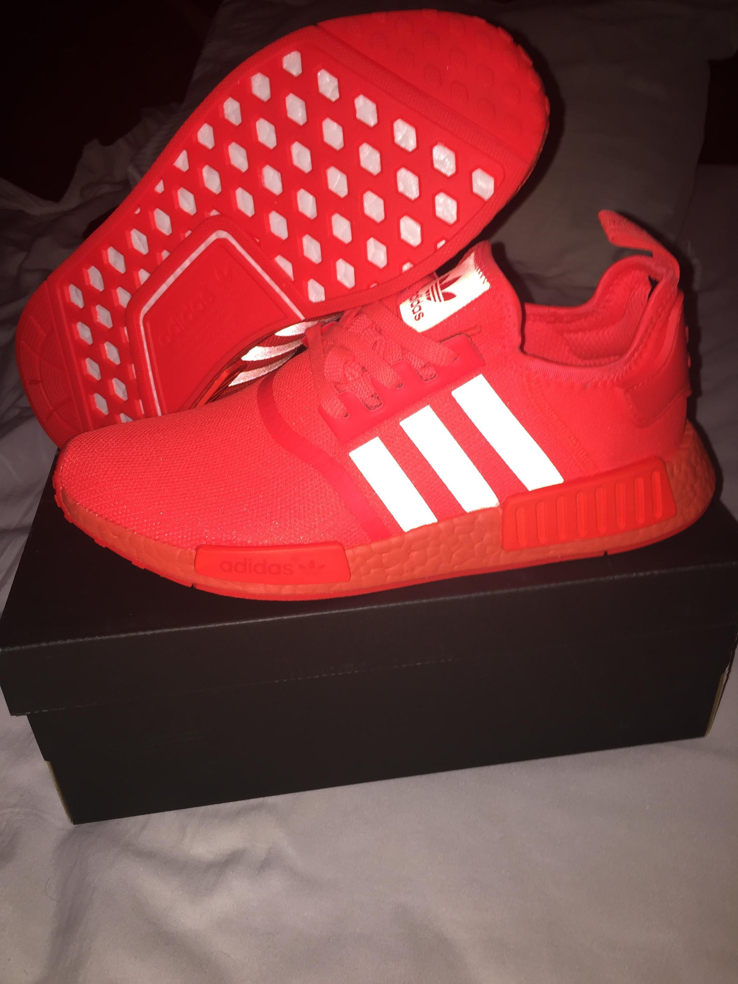 buy popular 4af05 c653f  LPU  Finally got these for a steal (Adidas NMD Solar Red)