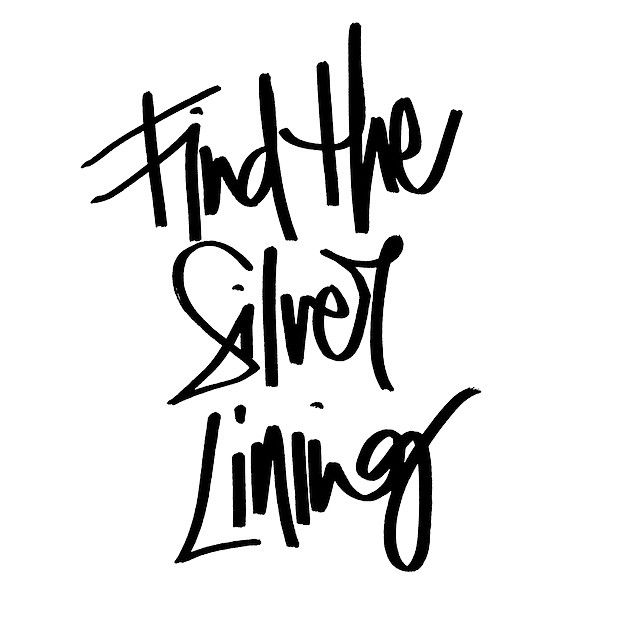 Find The Silver Lining Thescribblerslist Written Words