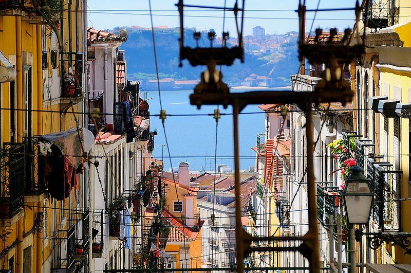 Elevador Da Bica Lisbon Portugal Favorite Places Spaces