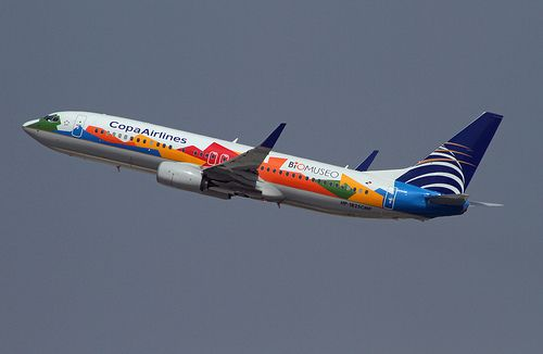 Special Livery Copa Airlines Boeing 737 800 Biomuseo Airlines Boeing Boeing 737