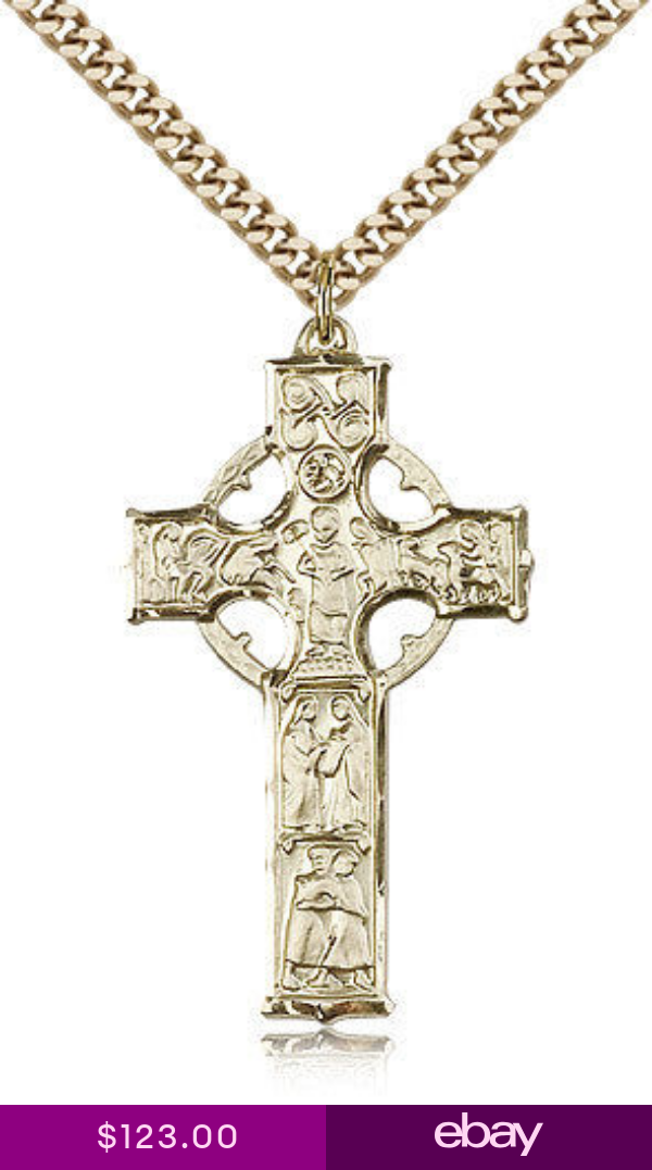 Gold Filled Cross Necklace For Men On 24 Chain 30 Day Money Back Guarantee Men Necklace Gold Chains For Men Necklace