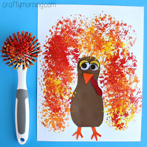 16+ Fun & Easy Thanksgiving Crafts - HAPPY TODDLER PLAYTIME
