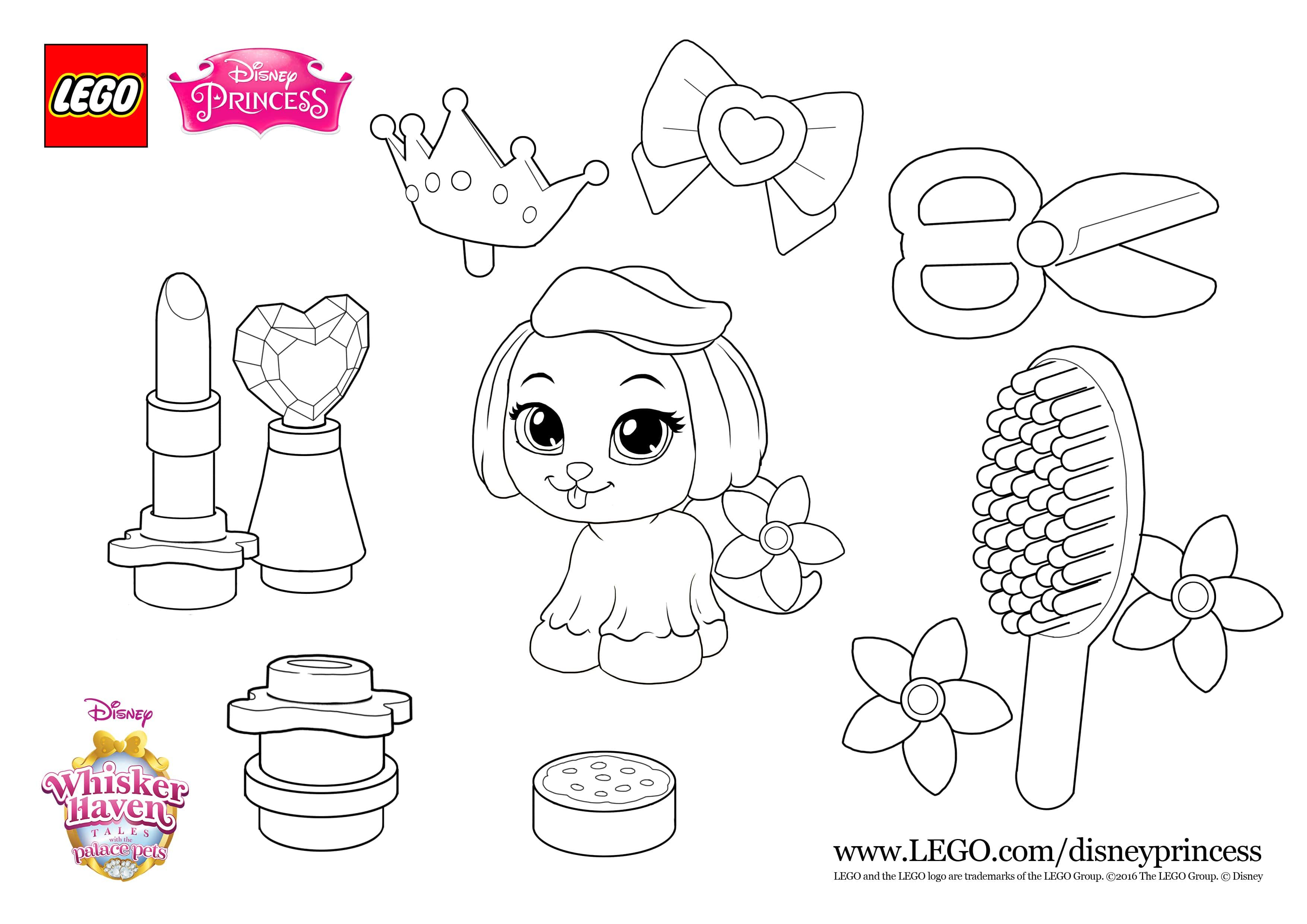 More Fun With Lego Disney Whisker Haven Palace Pets Starring Super Cuty Daisy Print The S Lego Coloring Pages Disney Coloring Pages Toy Story Coloring Pages