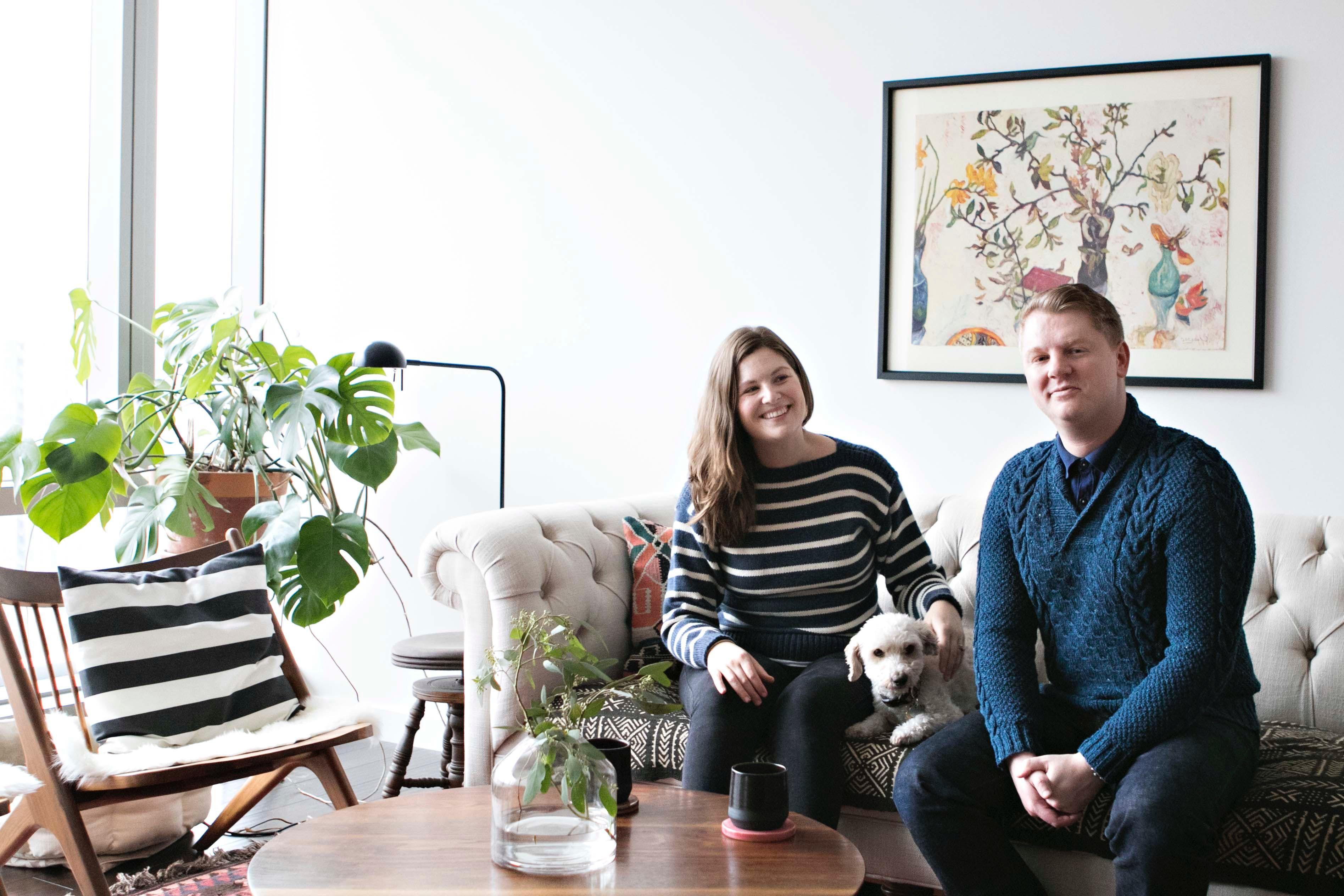 Creative Entrepreneurs Share a Cozy Condo with a View