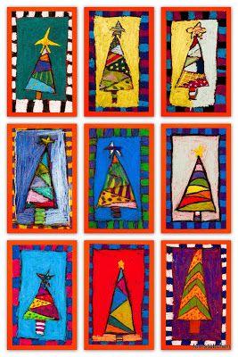 Lernstübchen: Weihnachtsbäume einmal anders