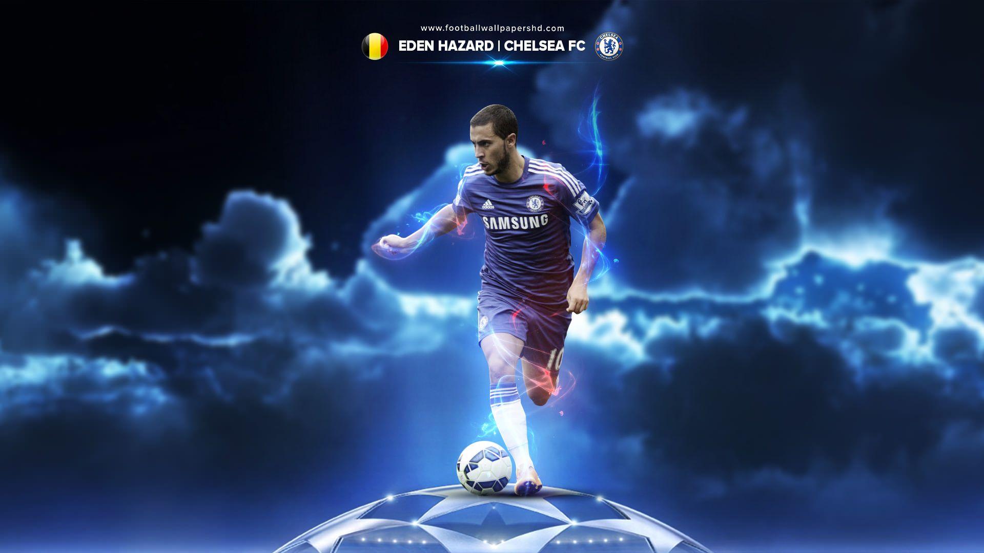 Eden Hazard Belgium Chelsea Wallpaper