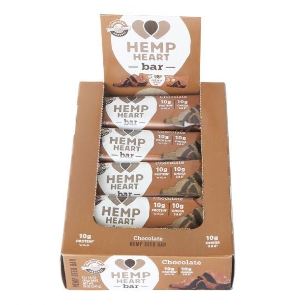 Manitoba Hemp Heart Bar Chocolate -Box/12