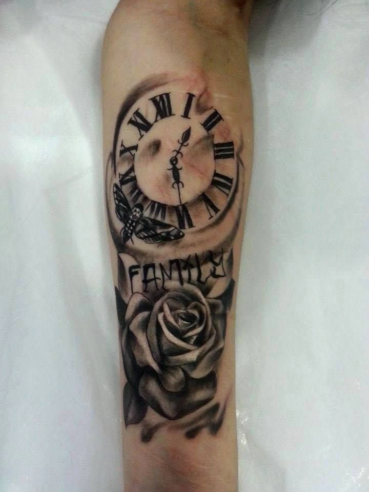 420 Clock Tattoo Designs Related Keywords & Suggestions ...