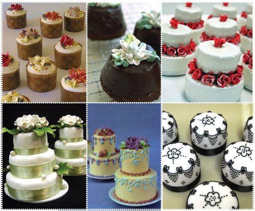 mini cakes - Buscar con Google