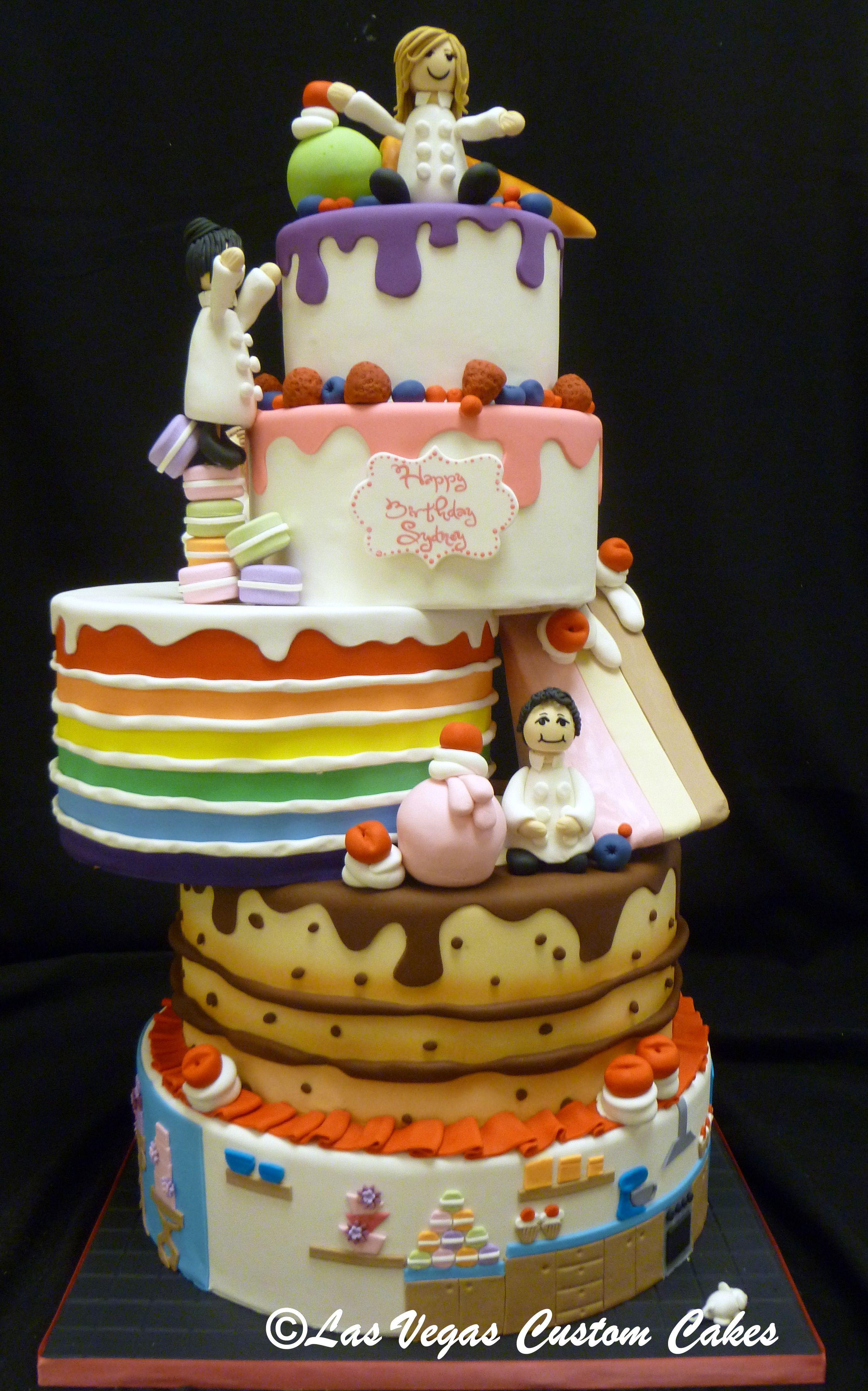 Bakers Still Making The Kids Birthday Cake From Las Vegas Custom Cakes