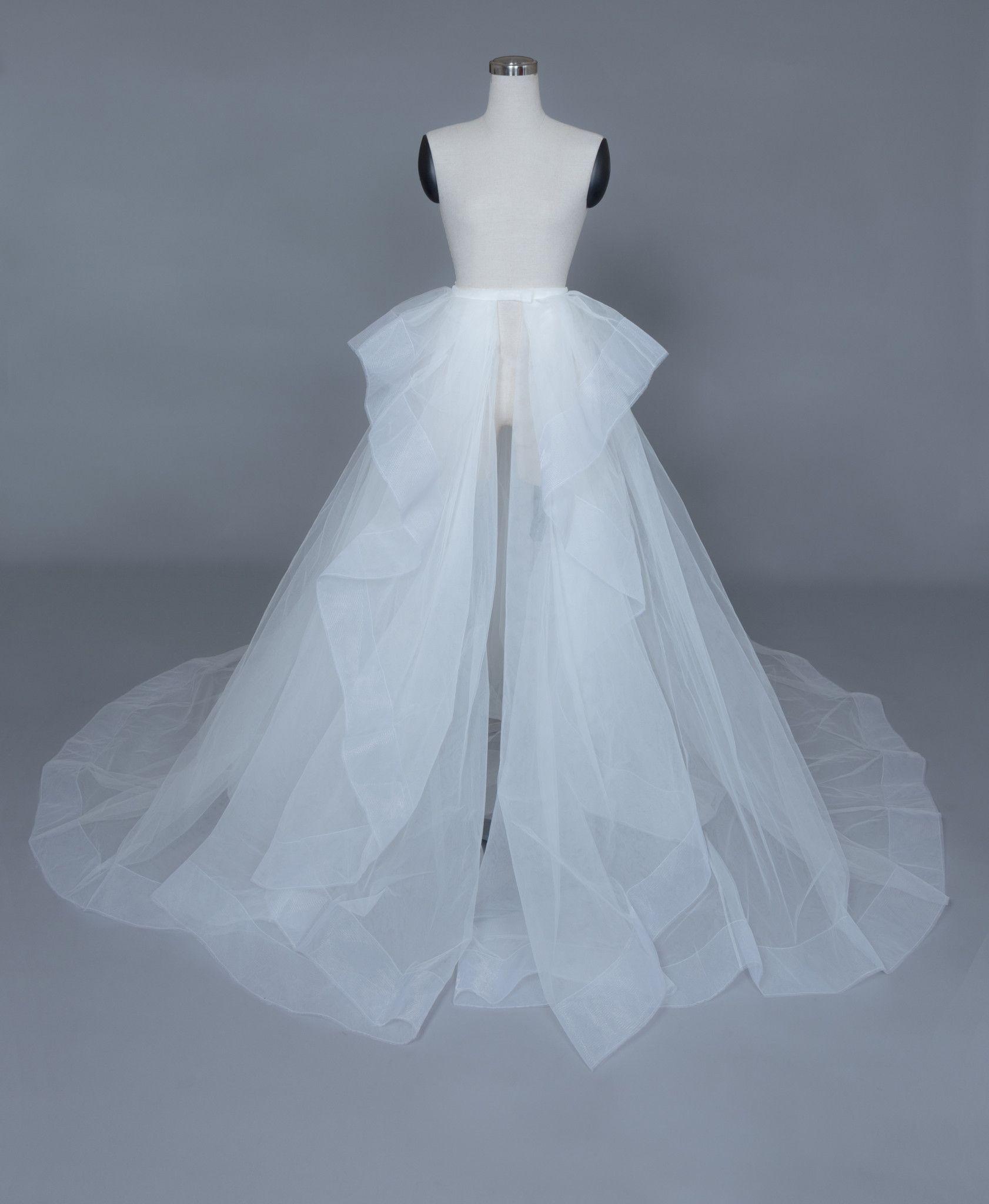 Detachable peplum bridal skirt elara in 2020 homemade