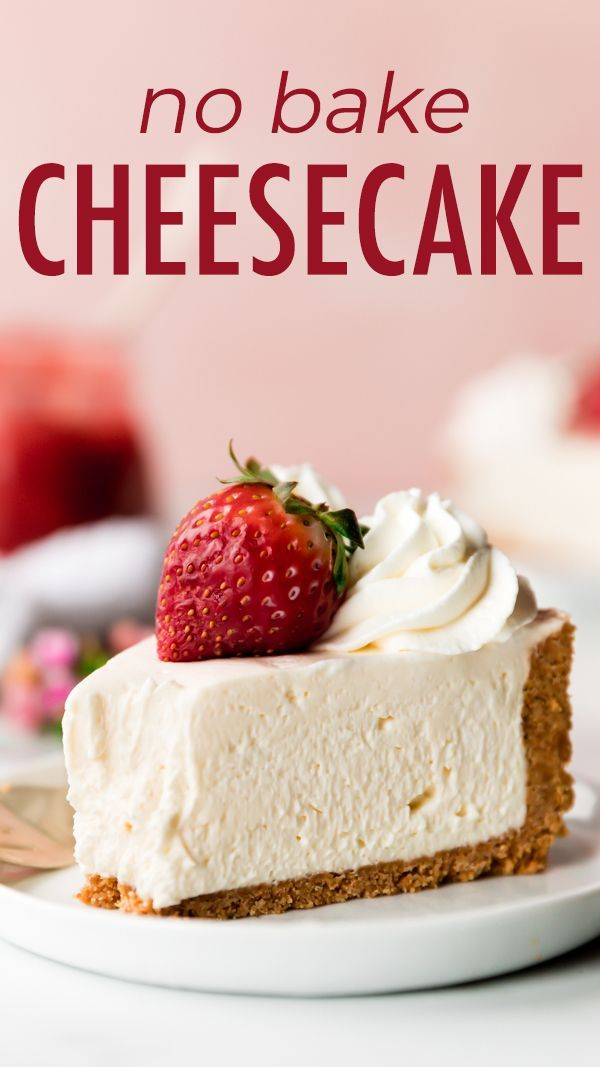 Photo of Perfect No-Bake Cheesecake Recipe | Sally's Baking Addiction