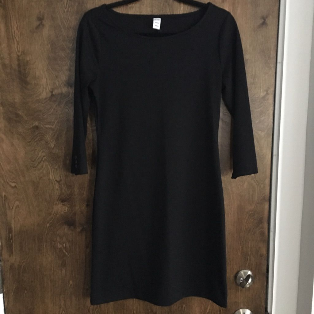 Long sleeve black dress products