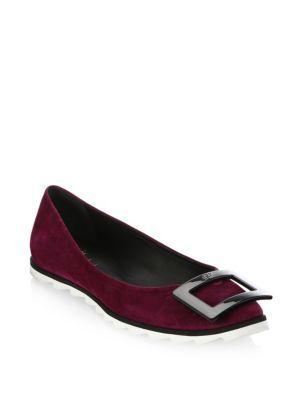 ROGER VIVIER   Gommette Lug Sole Flats #Shoes #ROGER VIVIER
