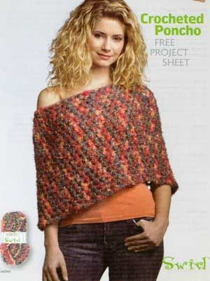 Simple Poncho Crochet Pinterest Ponchos White Blouses And