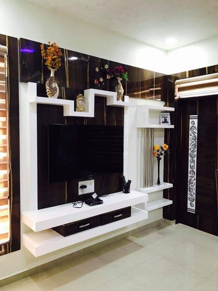 Lcd Panel Design Tv Unit Design Tv: Interior Designer In Mumbai